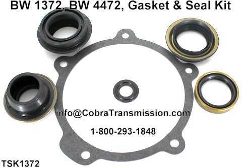 BW 1372, BW 4472, Gasket & Seal Kit