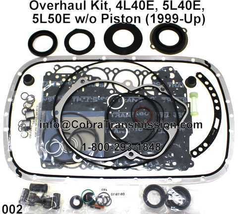 5l40e Parts Diagram | Repair Manual