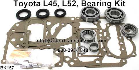 Toyota L45, L52, Bearing, Gasket and Seal Kit
