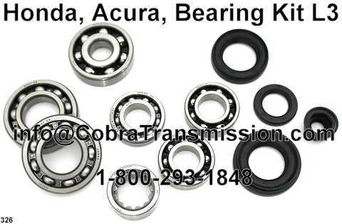 Honda, Acura, Bearing, Gasket and Seal Kit L3
