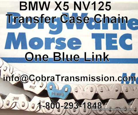 BMW X5 One Blue Link Chain