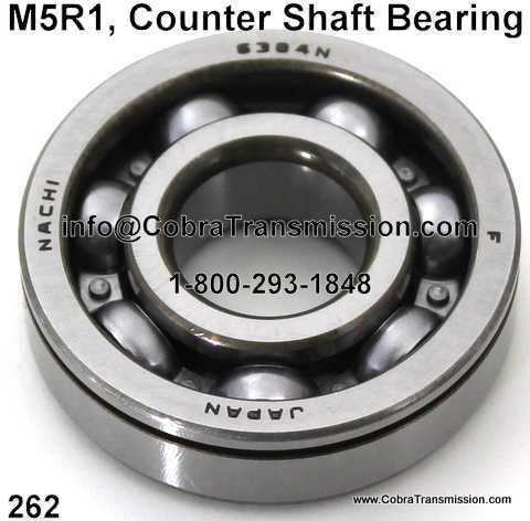M5R1, Counter Shaft Bearing