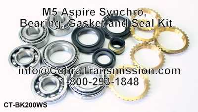 M5 Aspire Synchro, Bearing, Gasket and Seal Kit