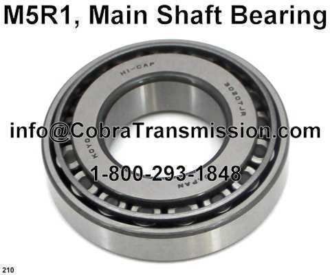 M5R1, Main Shaft Bearing