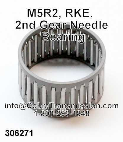 M5R2, RKE, 2nd Gear Needle Bearing