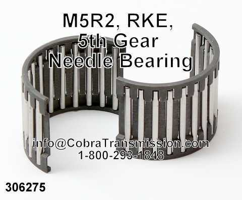 M5R2, RKE, 5th Gear Needle Bearing