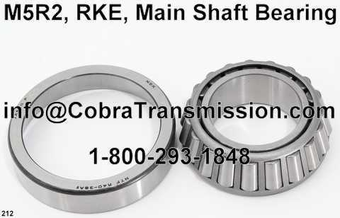 M5R2, RKE, Main Shaft Bearing