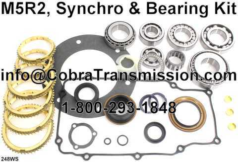 M5R2, Synchro, Bearing, Gasket and Seal Kit