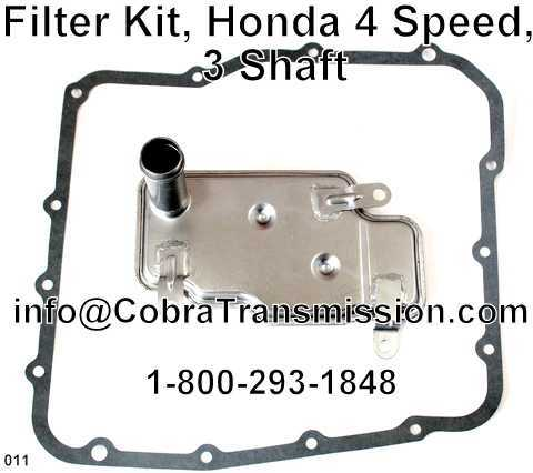 Filter Kit, Honda 4 Speed, 3 Shaft
