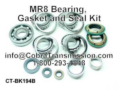 MR8 Bearing, Gasket and Seal Kiting Kit