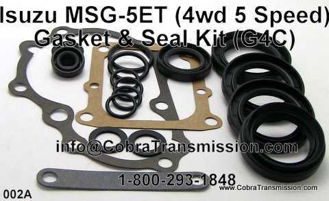 Isuzu MSG-5ET (4wd 5 Speed), Gasket & Seal Kit
