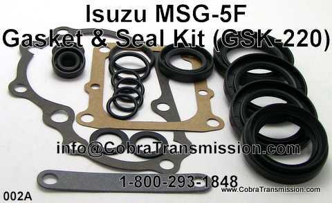 Isuzu MSG-5F, Gasket & Seal Kit