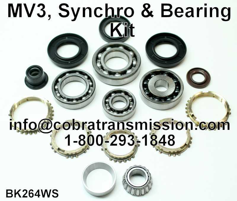 MV3, Synchro, Bearing, Gasket and Seal Kit