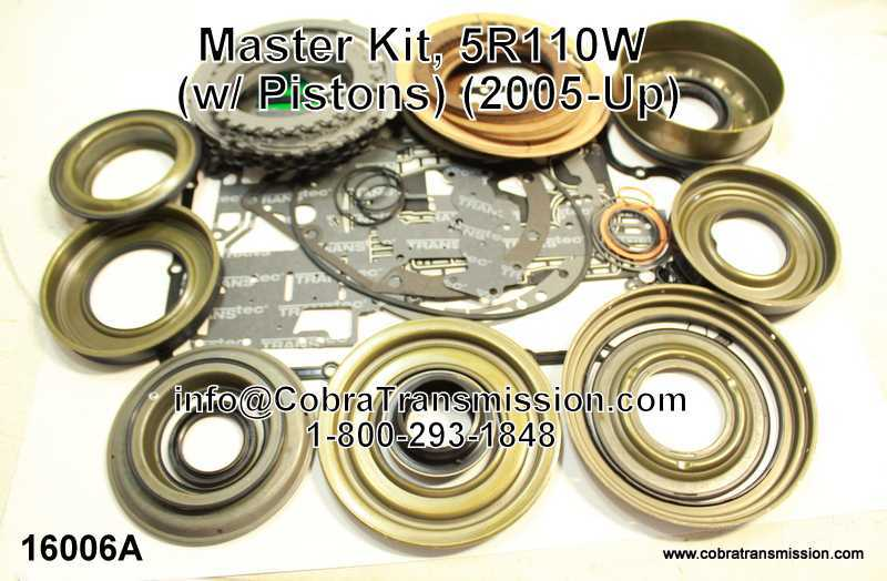 Master Kit, 5R110W (w/ Pistons) (2005-Up)