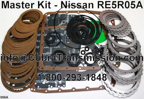 Master Kit - Nissan RE5R05A