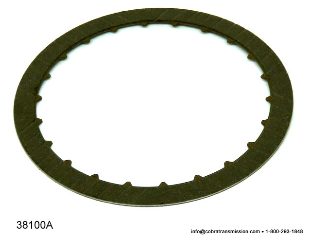Mazda F4A-EL, Friction Plate, 3-4 Clutch