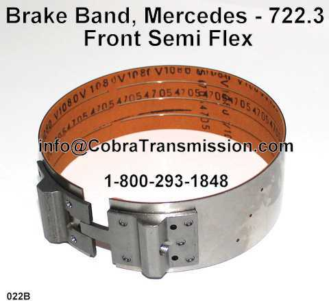 Cinta de Freno - Banda, Mercedes - 722.3 Delantera Semi Flexible