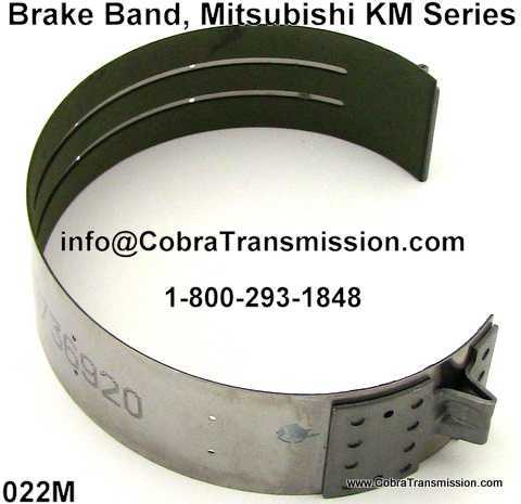 Brake Band, Mitsubishi KM Series