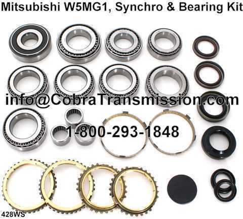 PARTIAL KIT: W5MG1 Synchro, Bearing and Seal Kit