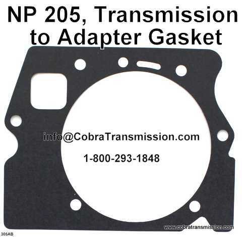 A727 (TF8) Gasket, Extension Housing to Case