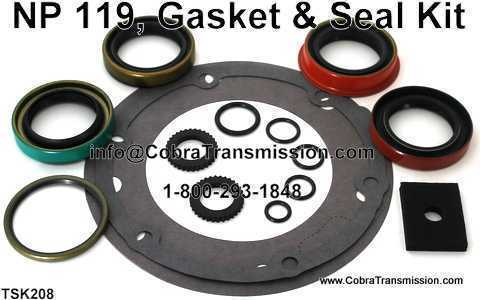 NP 119, Gasket & Seal Kit