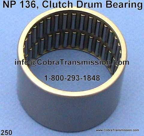 NP 136, Clutch Drum Bearing