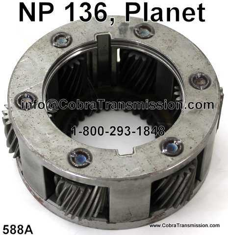 NP 136, Planet