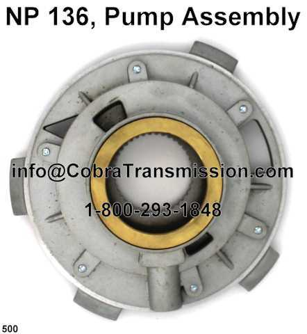 NP 136, Pump Assembly