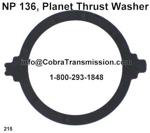 NP 136, Planet Thrust Washer