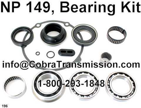 NP149 Bearing And Seal Kit