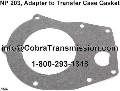 NP203 Adapter to Transfer Case Gasket
