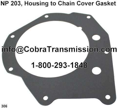 NP 203, Housing to Chain Cover Gasket