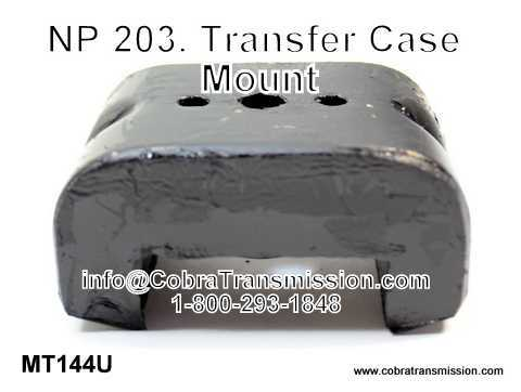 NP 203, Transfer Case Mount