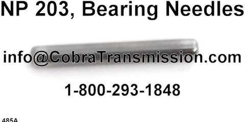 NP 203, Bearing Needles