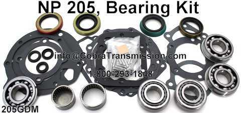 NP 205, Bearing Kit