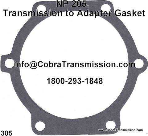 NP 205, Transmission to Adapter Gasket