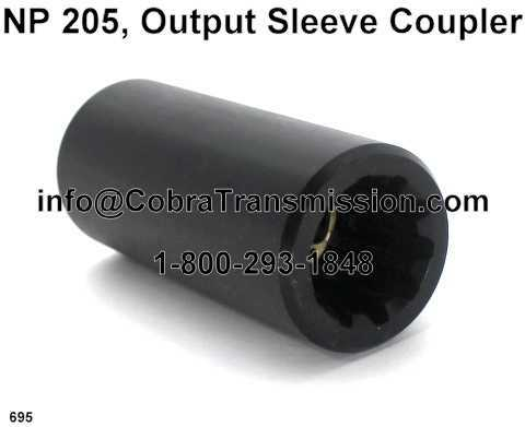NP205 Output Sleeve Coupler
