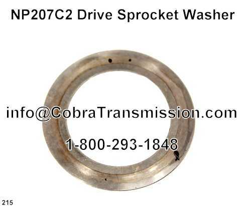 NP207C2 Drive Sprocket Washer