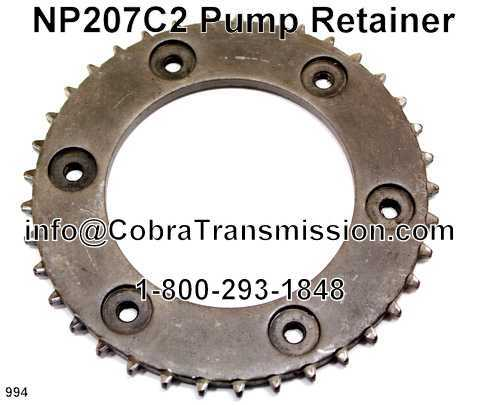 NP207C2 Pump Retainer