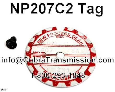 NP207C2 Tag