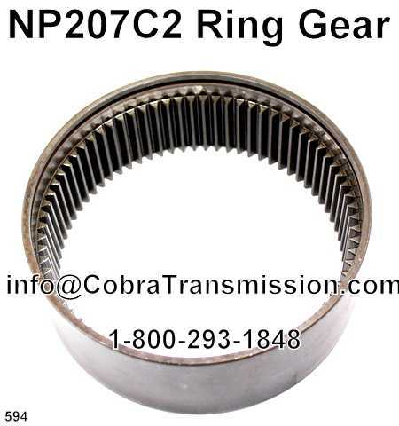 NP207C2 Ring Gear