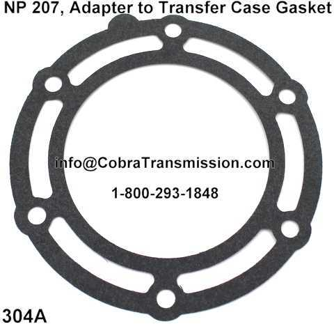 NP 207, Adapter to Transfer Case Gasket