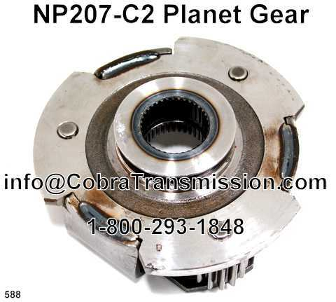 NP207-C2 Planet Gear
