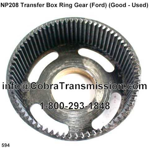 NP 208 Transfer Box Ring Gear (Ford) (Good - Used)