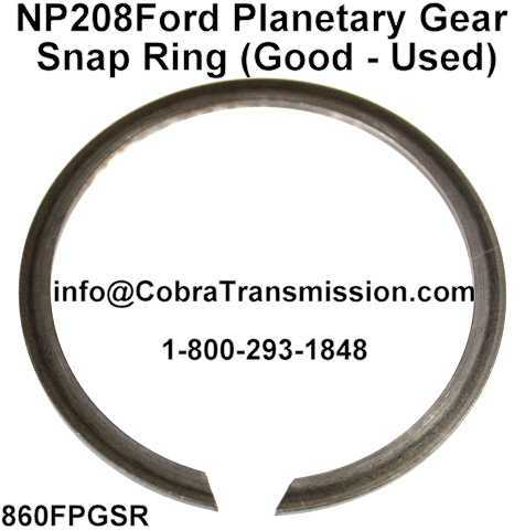 NP 208Ford Planetary Gear Snap Ring (Good - Used)