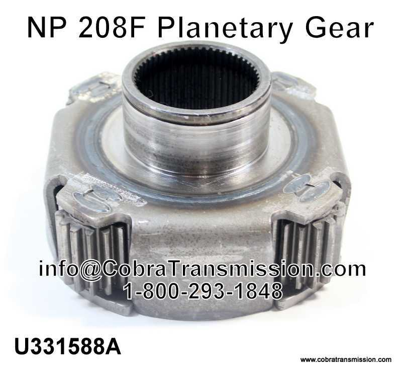 NP 208F Planetary Gear