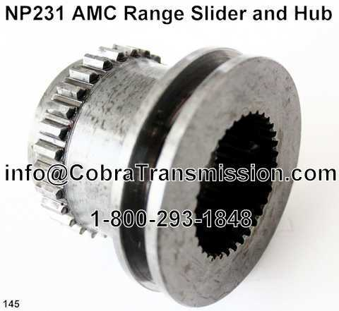 NP231 AMC Range Slider and Hub
