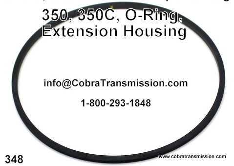 350, 350C, O-Ring, Extension Housing