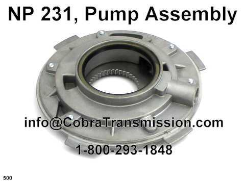 NP 231, Pump Assembly