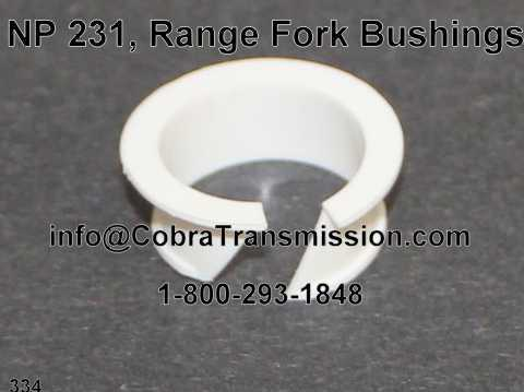 NP 231, Range Fork Bushings